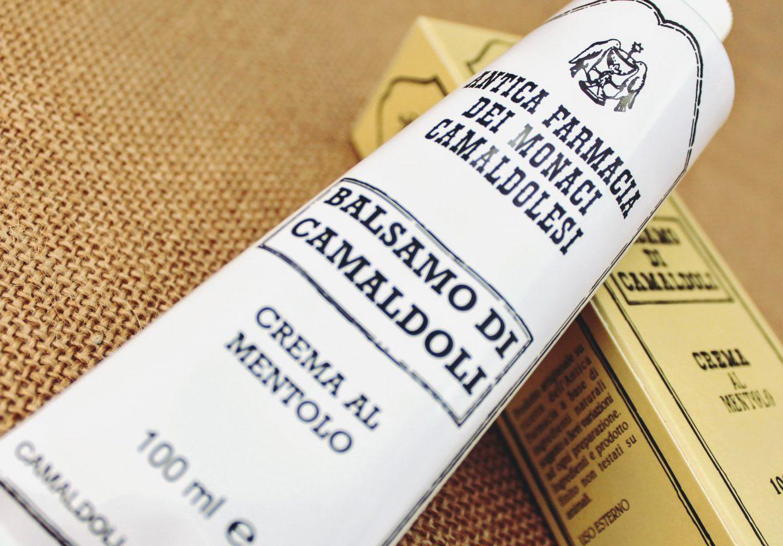 Balsamo di Camaldoli per Massaggi (Crema al Mentolo)