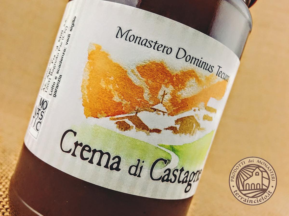Crema di Castagne Monastero Dominus Tecum